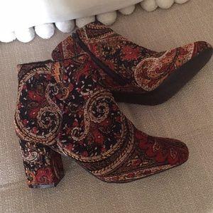DIBA Tapestry Bootie